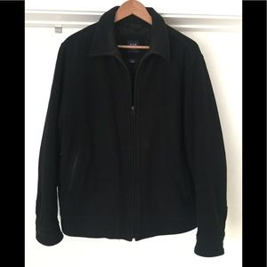 GAP Black Wool Peacoat